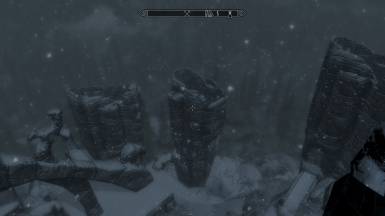 The towers of the Bleak Falls Barrow