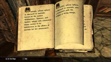 The Daedric Book of Power
