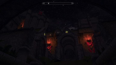Castle Dour at night with DoS and JKsLite