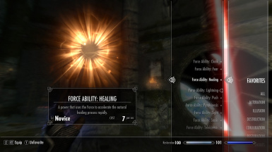 Star Wars Force Abilities Mod at Skyrim Nexus - mods and community