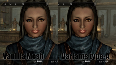 RANs HeadMesh Variants