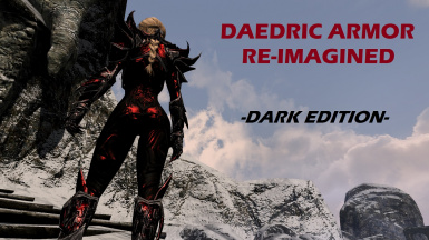 Daedric Armor Re-imagined -Dark Edition-