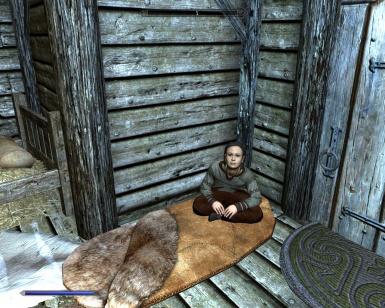 Haming's bed in Froki's Shack