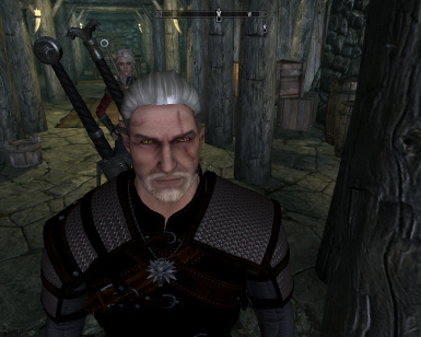 Witcher in training
