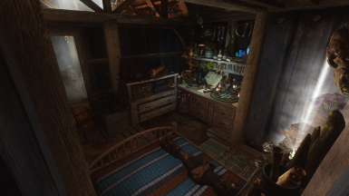 Bedroom and crafting etc