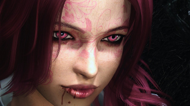 Pink haired Leira