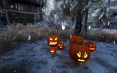 placeable pumpkins