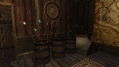 Ante-room - Weapons and Stave Storage