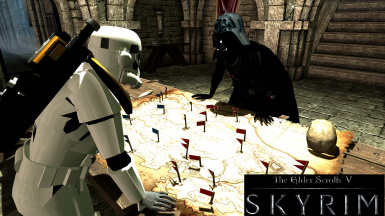 STAR WARS mod collection (Magicka Sabers in Hands) at Skyrim