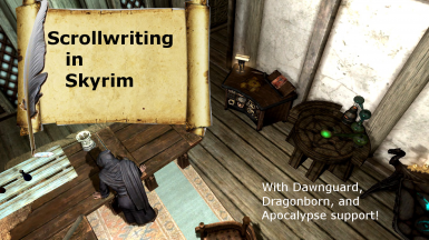 Scrollwriting in Skyrim