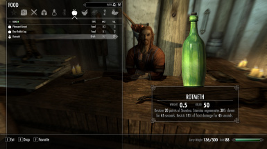 Bosmer Drinks (Vanilla and RND)