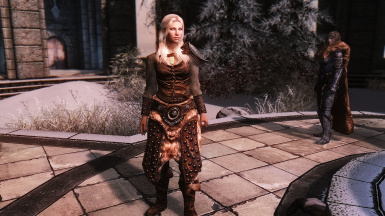 Studded Armor Female