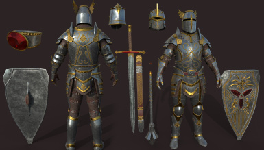 Artifacts - The Breton Paladin
