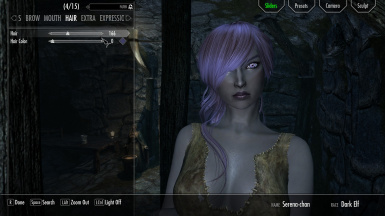 Cute dark elf preset