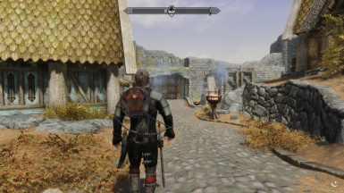 Immersive Armors Bucklers Add-on for Auto Unequip Shield to Back