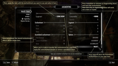 Augmenting Menu - Assimilate Small