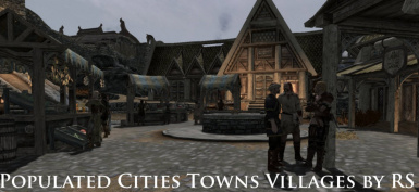populated cittie towns and villagers