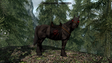 HSCH Retex Shadowmere and HS Dark Brotherhood Tack