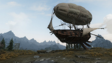 Dev Aveza Airship Original Cabin Overhaul