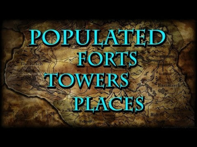populated forts towers places