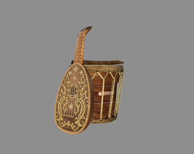 A lute from Witcher 3