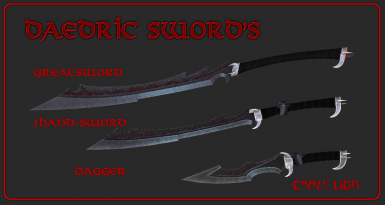 CL's Daedric Weapon's