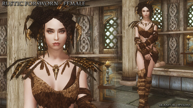 Rustic Forsworn Female Front