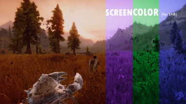 screenCOLOR for ENB (palettes)