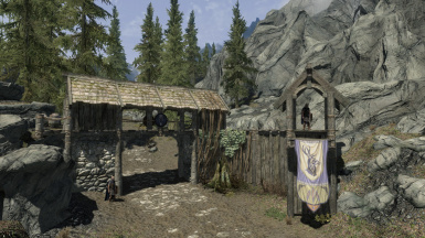 Falkreath Hold Northern Gate Front