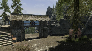Falkreath Hold Northern Gate From Falkreath