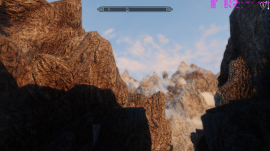 mountains with Vivid texture