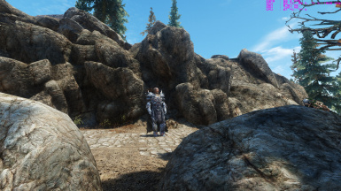 SHD rocks with northfires mountain texture