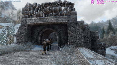 windhelm bridge after