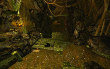 Clear Cave-in in Knifepoint Mine