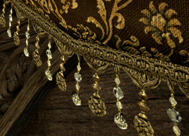 New Noble Drapery - Beaded Fringe