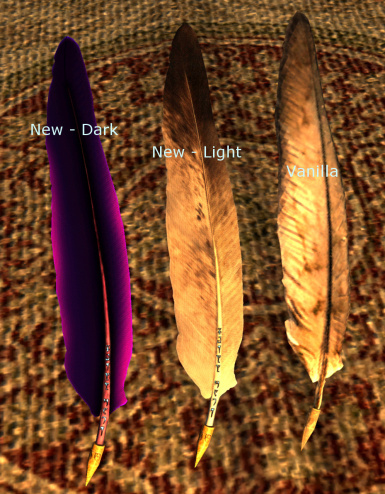 Quill of Gemination   Vanilla Comparison