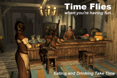 Eating and Drinking Take Time