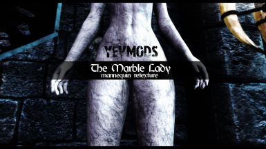 YevMods - The Marble Lady - Mannequin Retexture for SculptureSM