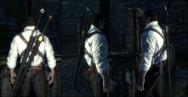 Witcher-like Sword Position