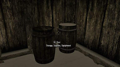 Cloud Barrels Located Hold Capitals