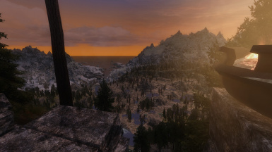 Windhelm in the Distance
