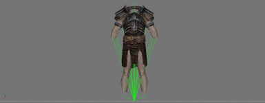 Ancient Nord Armour - Before