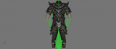 Orcish Armour - Before