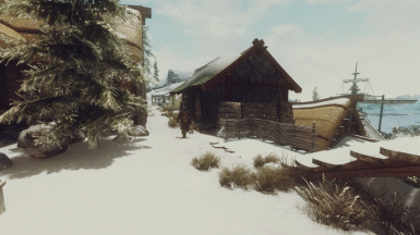 Dawnstar Barn with JKs mod enabled