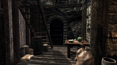 Bath entrance Windhelm