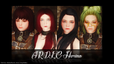 Pure Girls - Dawnguard Heroines Replacer