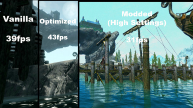 Potato PC vs Modded Skyrim