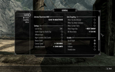 Lock-On - lock on mechanism at Skyrim Nexus - mods and community