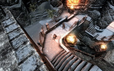Windhelm Docks Pathways 07