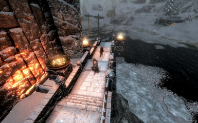 Windhelm Docks Pathways 09